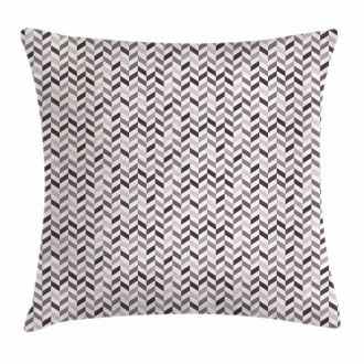 Geometric Style Angled Line Pillow Cover