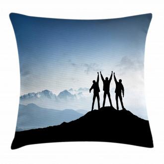 Mountain Peak Theme Pillow Cover