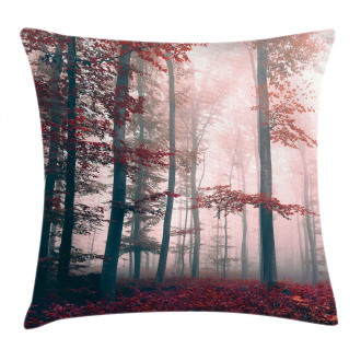 Autumn Fall Nature Woods Pillow Cover