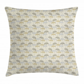 Soft Tree Leaves Retro Style Pillow Cover
