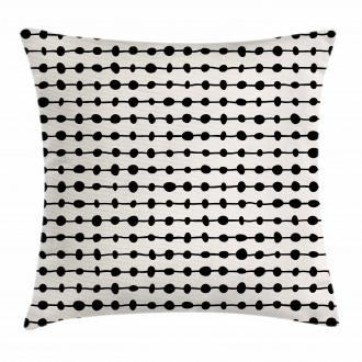 Geometric Dots Composition Pillow Cover