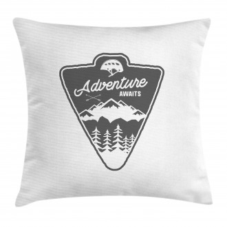Camping and Hiking Pillow Cover