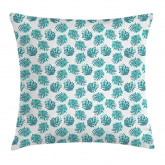Ornate Botanical Conifers Pillow Cover