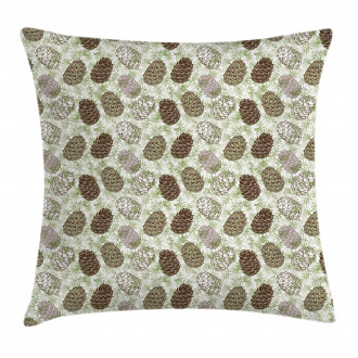 Greenland Foliage Forest Pillow Cover