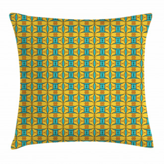 Kaleidoscopic and Ethnic Pillow Cover