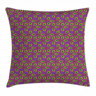Geometric Floral Shapes Pillow Cover