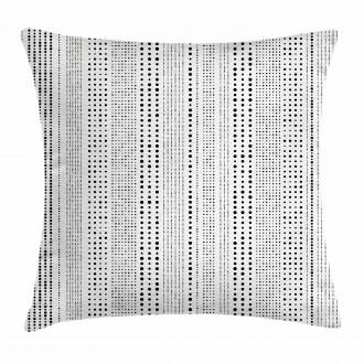 Vertical Big Little Dots Pillow Cover