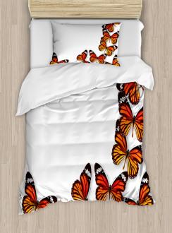 Spring Monarch Bug Duvet Cover Set