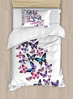 Cute Wings Feminine Duvet Cover Set
