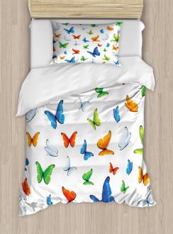 Butterflies Animal Duvet Cover Set