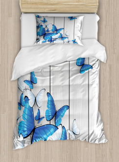 Insect Wooden Timber Duvet Cover Set