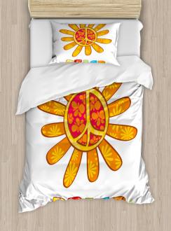 Nature Flower Design Duvet Cover Set