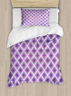 Retro Style Abstract Duvet Cover Set