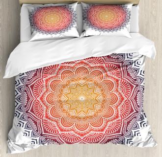 Mandala Orient Heart Duvet Cover Set