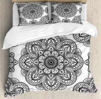 Ornate Mandala Patterns Duvet Cover Set