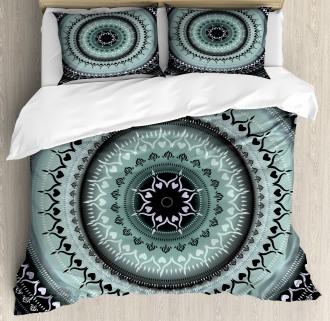 Vintage Mandala Circles Duvet Cover Set