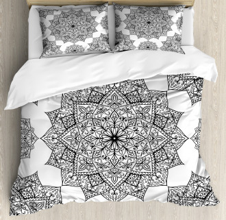 Eastern Mosaic Patterns Duvet Cover Set