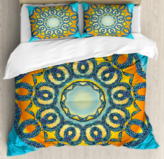 Ethnic Mandala Floral Duvet Cover Set