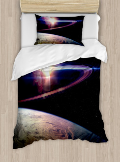 Massive Planets Cosmo Duvet Cover Set