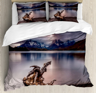 Reflections to Mountain Duvet Cover Set