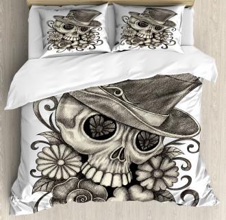 Sketch Mexican Duvet Cover Set