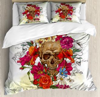 Dead Flowers Spain Duvet Cover Set