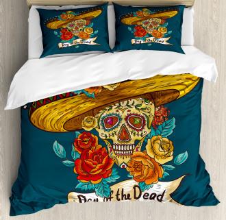 Mexican Festive Hat Duvet Cover Set