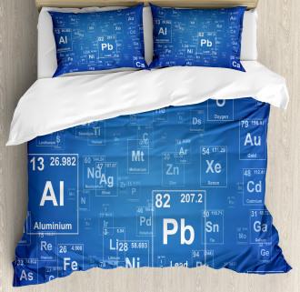 Tv Show Theme Chemistry Duvet Cover Set