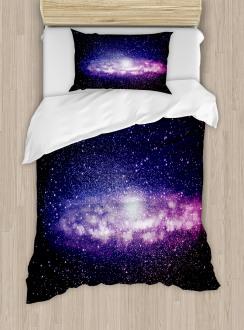 Nebula Cloud Milky Way Duvet Cover Set