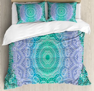 Mandala Geometric Figure Duvet Cover Set