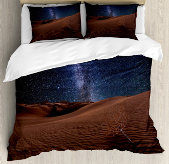 Desert Lunar Life on Mars Duvet Cover Set