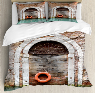 Historical Venice Door Duvet Cover Set