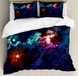 Cosmos Galactic Star View Duvet Cover Set