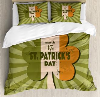 St. Patricks Day Duvet Cover Set