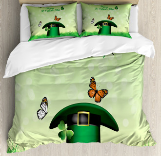 Irish Hat Charm Duvet Cover Set