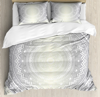 Boho Ombre Retro Duvet Cover Set