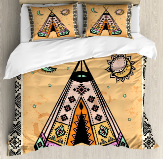 Native Bohemian Signs Duvet Cover Set