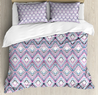 Abstract Tribal Pattern Duvet Cover Set