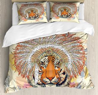 Africa Safari Wild Tiger Duvet Cover Set
