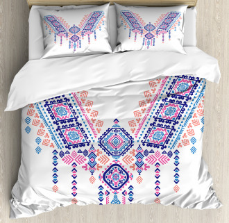African Geometric Design Duvet Cover Set
