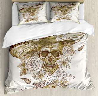 Spanish Dead Hat Duvet Cover Set