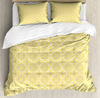 Pattern with Moroccan Duvet Cover Set