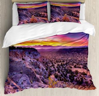 Sunrise Sky Horizon Dusk Duvet Cover Set