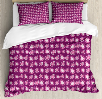 Heart Like Leaves Swirls Duvet Cover Set