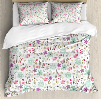 Country Nature Leaf Duvet Cover Set