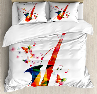 Butterfly Orchestra Jazz Duvet Cover Set