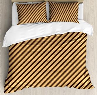 Striped Modern Duvet Cover Set