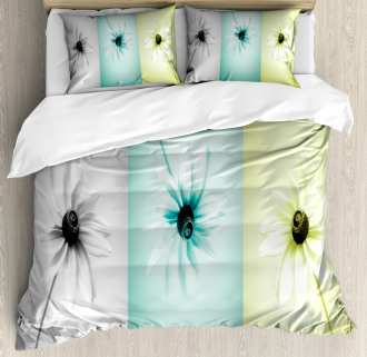 Different Daisy Flower Duvet Cover Set