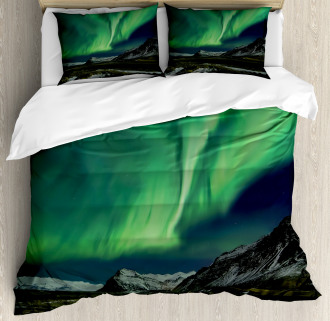 Polaris Mountain Duvet Cover Set