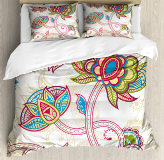 Flower Petal Shabby Chic Duvet Cover Set